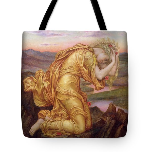 Demeter Mourning For Persephone Tote Bag