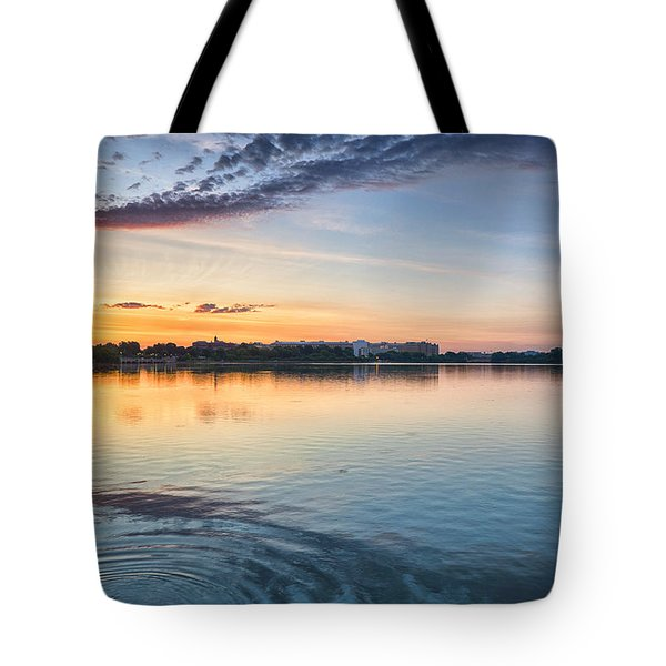 Tote Bag featuring the photograph Democracy Awakens by Sebastian Musial