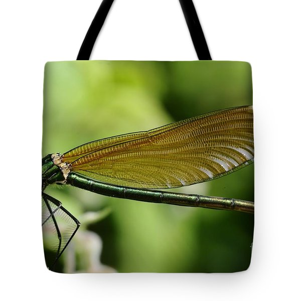 Demoiselle Tote Bag by Jenny Potter