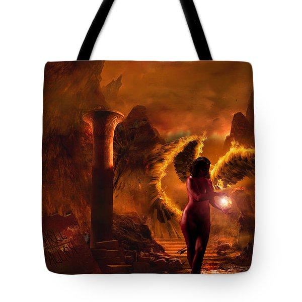Demon's Fury Tote Bag