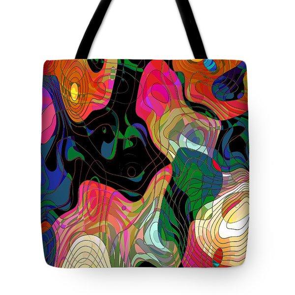 Demons Tote Bag by Klara Acel