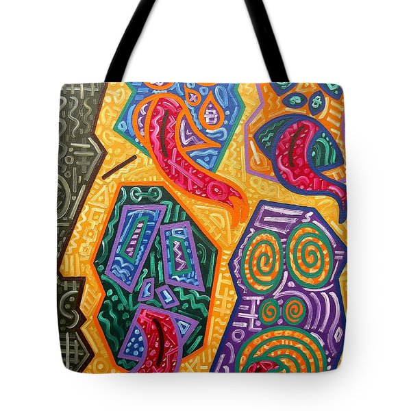 Demons Tote Bag by Patrick J Murphy