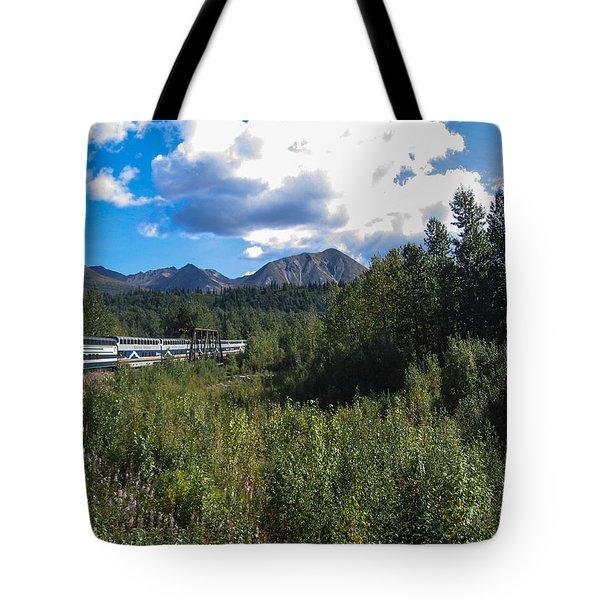 Denali Alaska Tote Bag