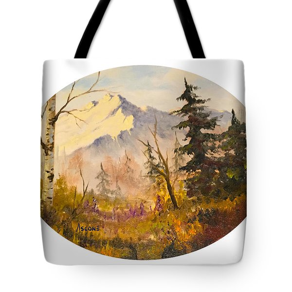 Denali Autumn Tote Bag