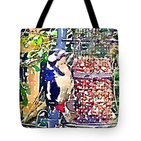Dendrocopos Major 'great Spotted Woodpecker' Tote Bag