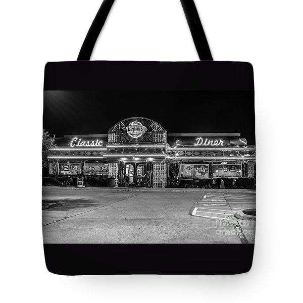 Denny's Classic Diner Tote Bag