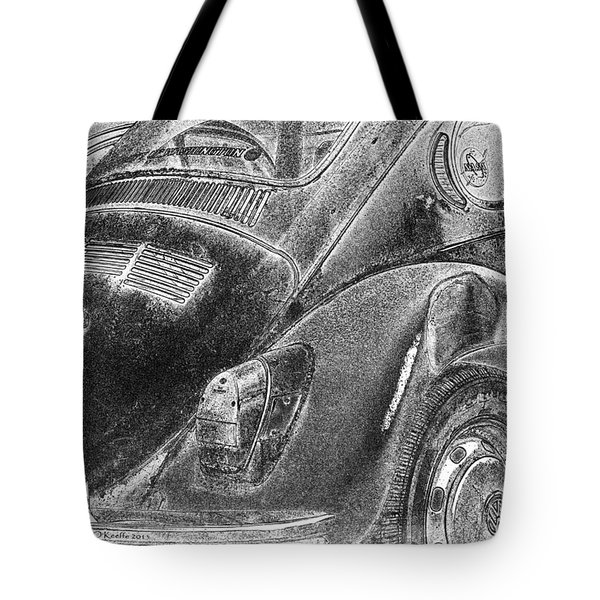 Tote Bag featuring the photograph Dented Ego by Jean OKeeffe Macro Abundance Art