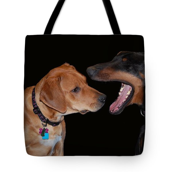 Tote Bag featuring the photograph Dentist by Mim White