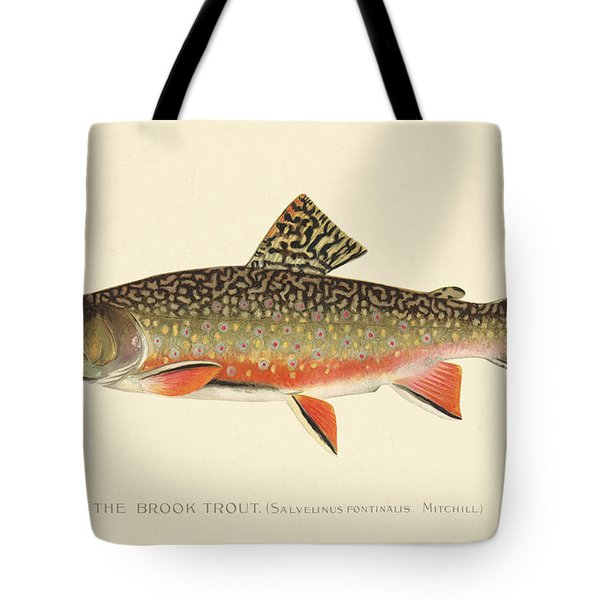 Denton Brook Trout Tote Bag