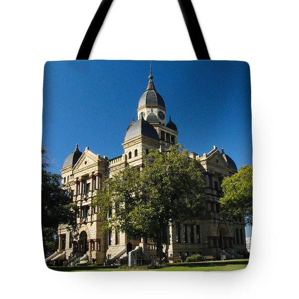 Denton County Courthouse Tote Bag