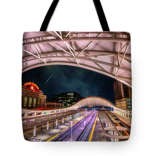 Denver Air Traveler Tote Bag