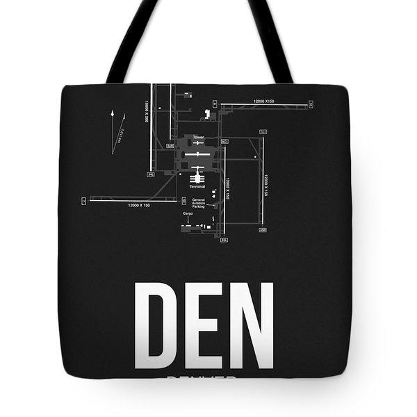 Denver Airport Poster 1 Tote Bag