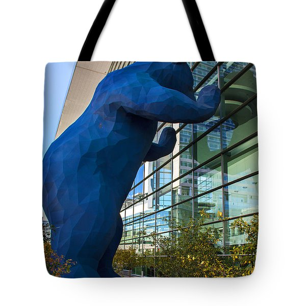 Denver Bear Tote Bag