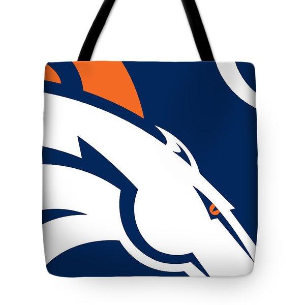 Denver Broncos Football Tote Bag