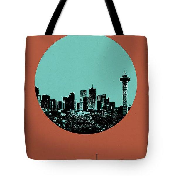 Denver Circle Poster 1 Tote Bag