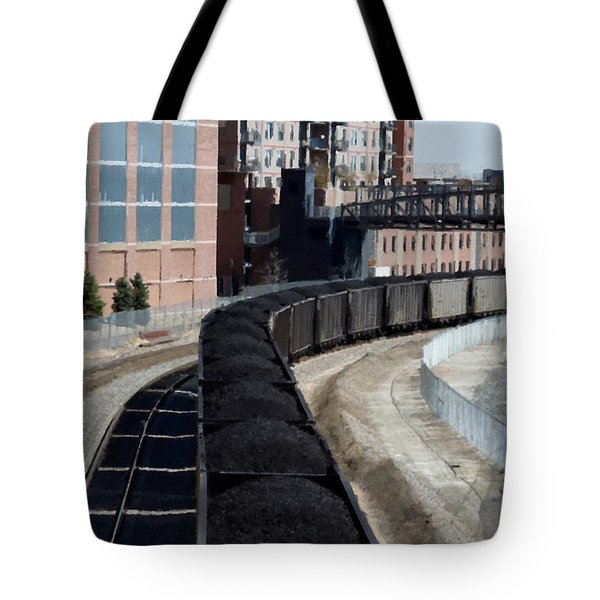 Denver Rail Yard Tote Bag