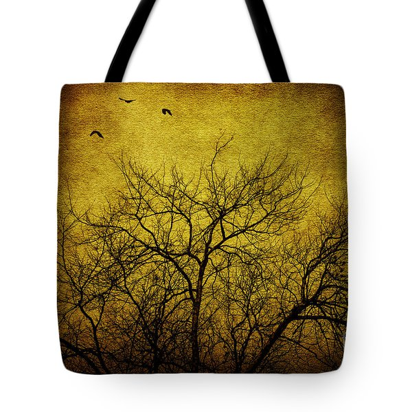 Departed Tote Bag by Andrew Paranavitana
