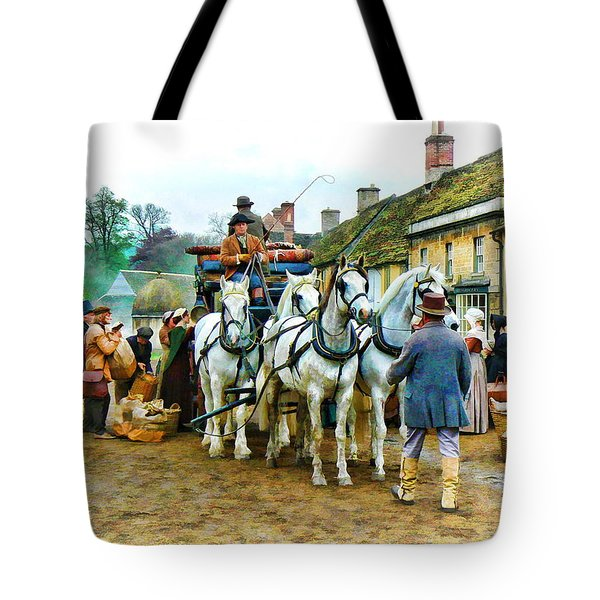 Departing Cranford Tote Bag