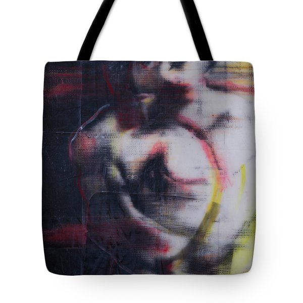 Depression Tote Bag by Ron Richard Baviello