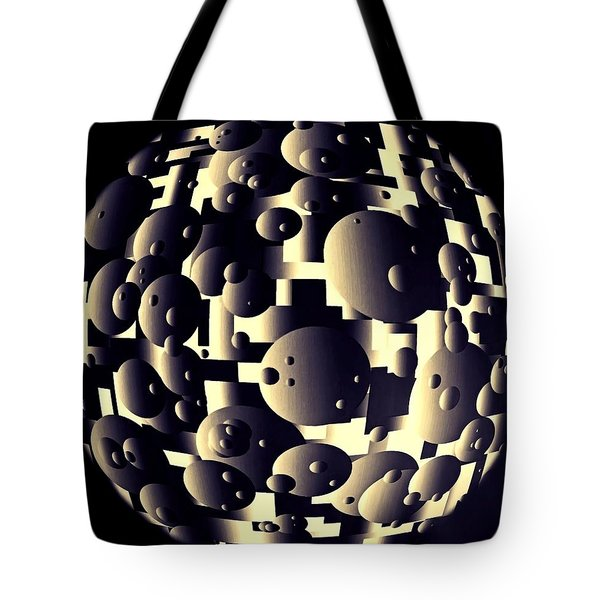 Tote Bag featuring the digital art Depth Of Thought by Susan Maxwell Schmidt