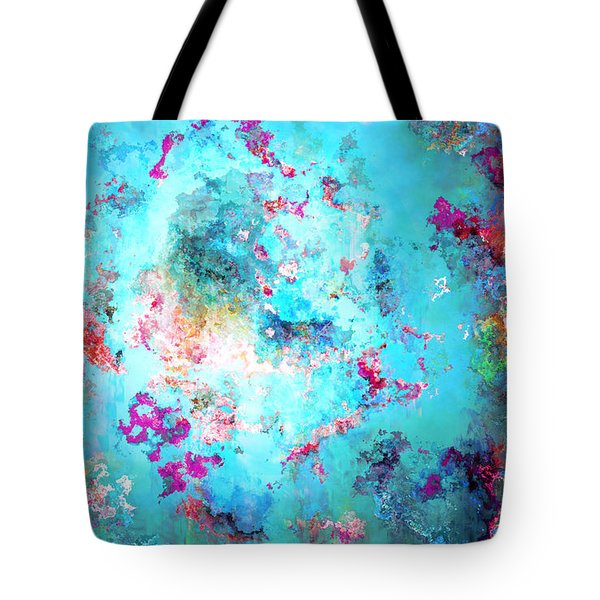 Depths Of Emotion - Abstract Art Tote Bag by Jaison Cianelli