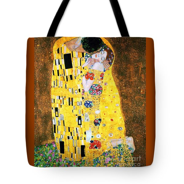 Der Kuss Or The Kiss. Tote Bag by Pg Reproductions