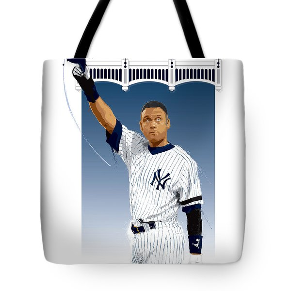 Derek Jeter 3000 Hits Tote Bag