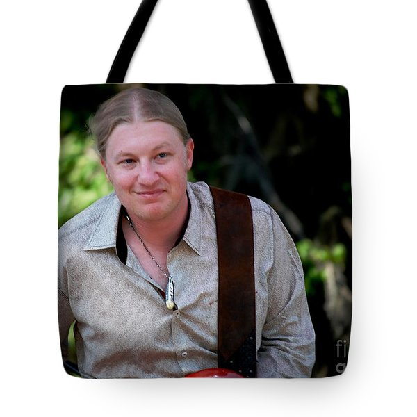Derek Trucks Tote Bag by Angela Murray