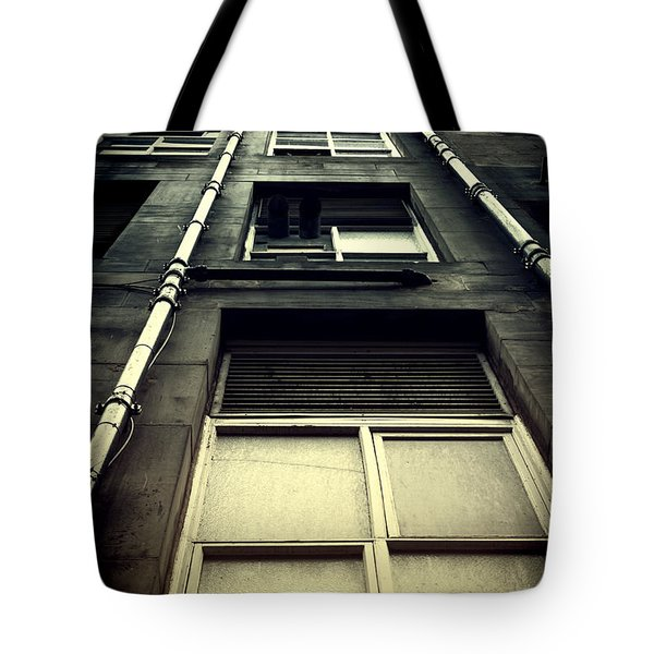 Tote Bag featuring the photograph Derelict Building by Craig B