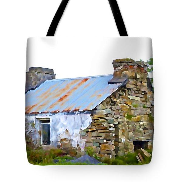 Derelict Tote Bag by Charlie Brock