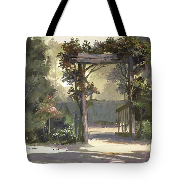 Descanso Gardens Tote Bag