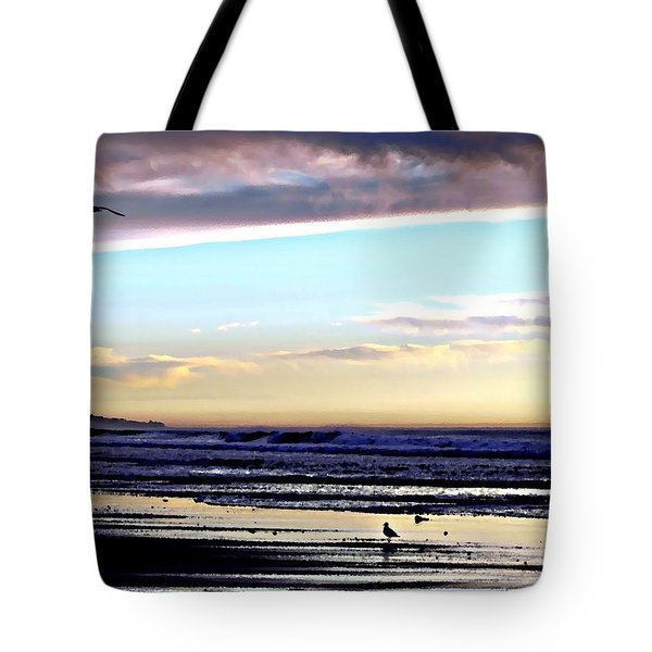 Descendants As Many As The Sand On The Shore Of The Sea Tote Bag by Sharon Soberon