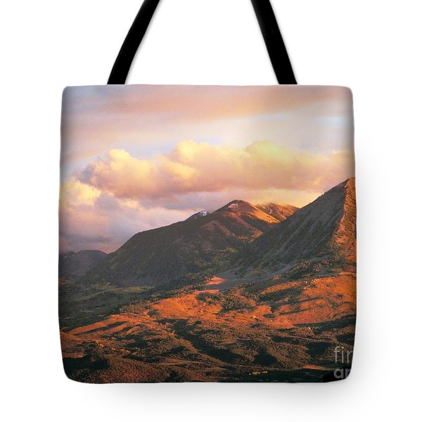 Descending To Splendor  Tote Bag