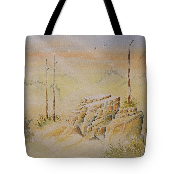 Deschutes Canyon Tote Bag