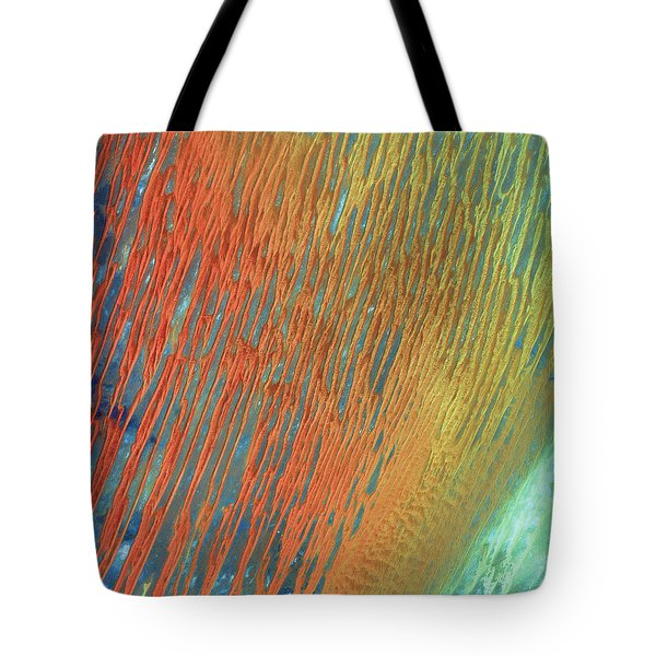 Desert Abstract Tote Bag by Jennifer Rondinelli Reilly - Fine Art Photography