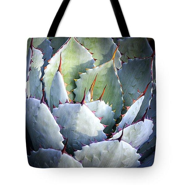 Desert Artichoke Agave Tote Bag
