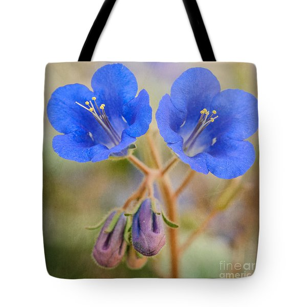 Desert Bluebells Tote Bag
