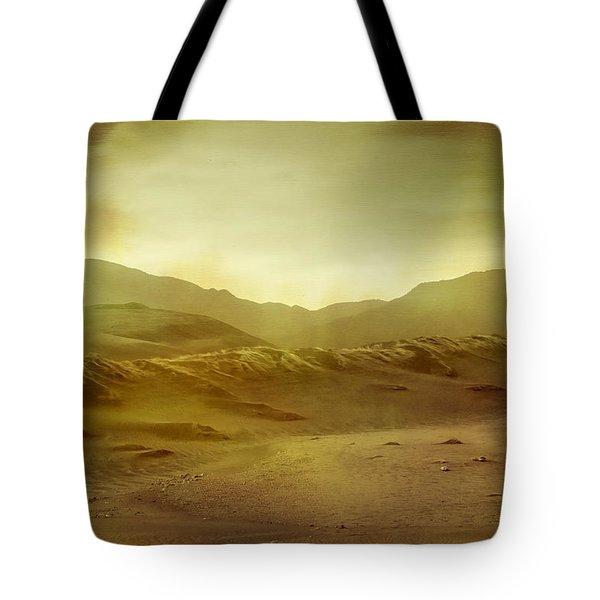 Desert Tote Bag by Brett Pfister