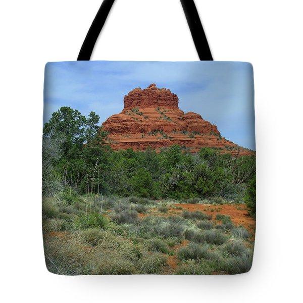 Desert Castle Tote Bag