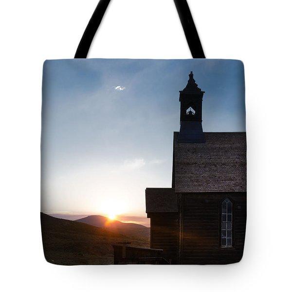 Desert Church  Tote Bag