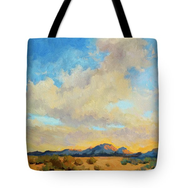 Desert Clouds Tote Bag