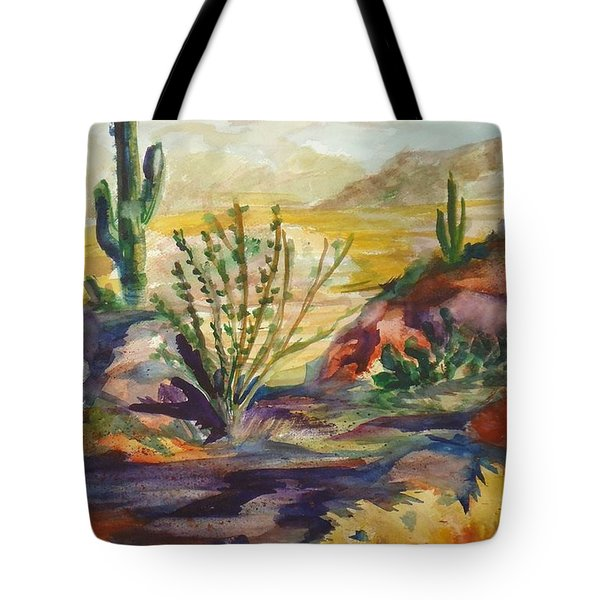 Desert Color Tote Bag