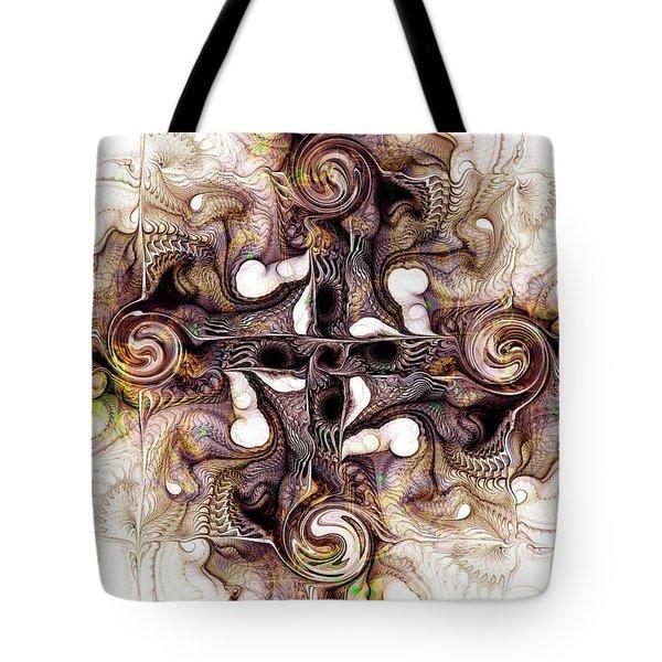 Desert Cross Tote Bag by Anastasiya Malakhova