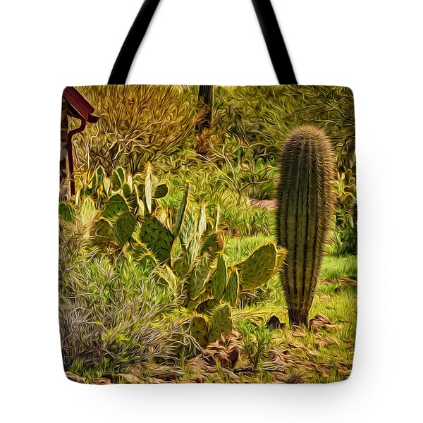 Tote Bag featuring the photograph Desert Dream by Mark Myhaver