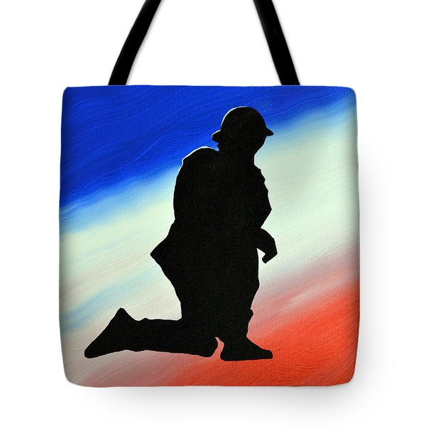 Desert Duty II Tote Bag