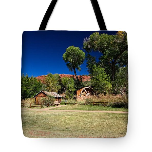 Desert Field Tote Bag by Dave Files