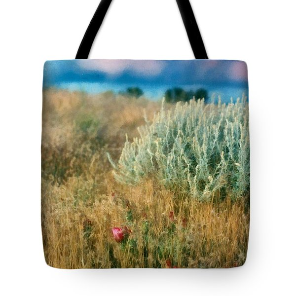 Desert Flowers Tote Bag
