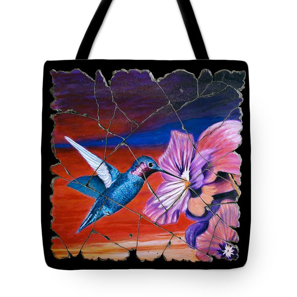 Desert Hummingbird Tote Bag