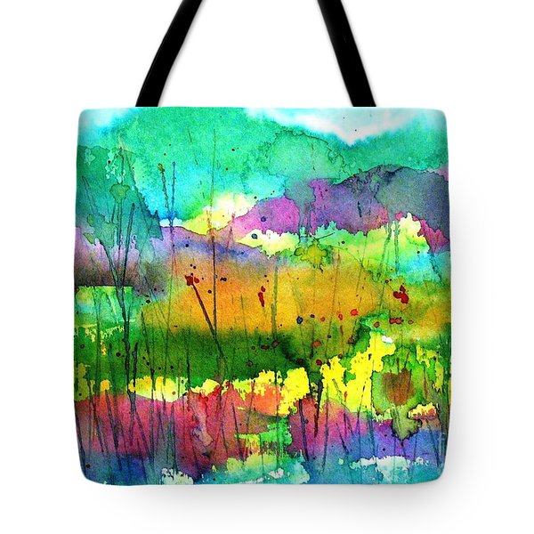 Desert In The Spring Tote Bag