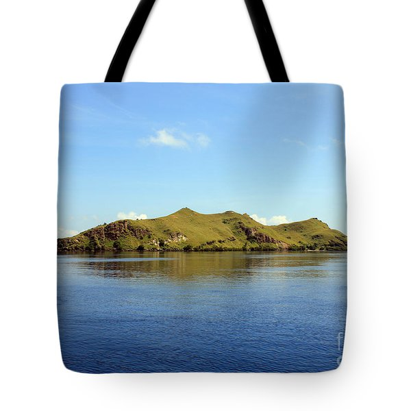 Tote Bag featuring the photograph Desert Island by Sergey Lukashin